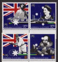 Australia SG1145-1148 1988 Bicentenary (13th) set 4v complete unmounted mint